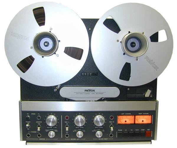 Magnétophone à Bandes Revox B77