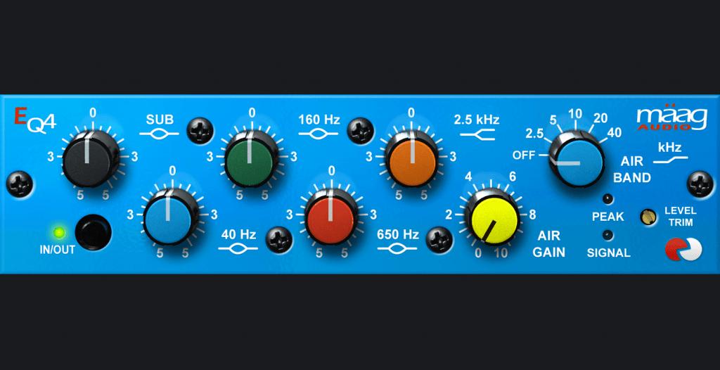 EQ paramétrique maag audio