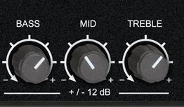 EQ simple 3 bandes à fréquences fixes