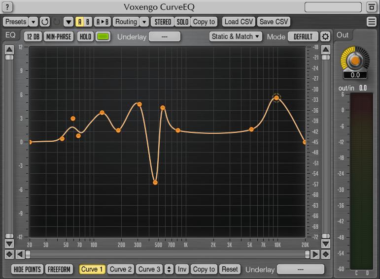 Voxengo Curve EQ