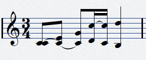 Ecriture polyphonique écrite sans polyphonie
