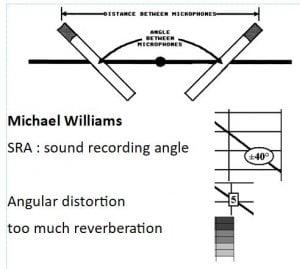 Légende des abaques de Michael Williams