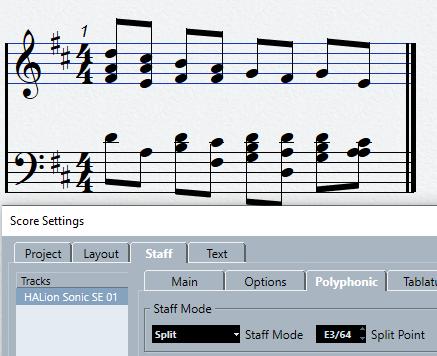 mode split exemple