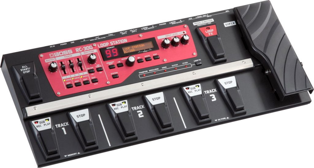 Boss Roland RC 300 Loop station