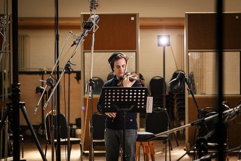 Spitfire recording violin source musicplayer.com