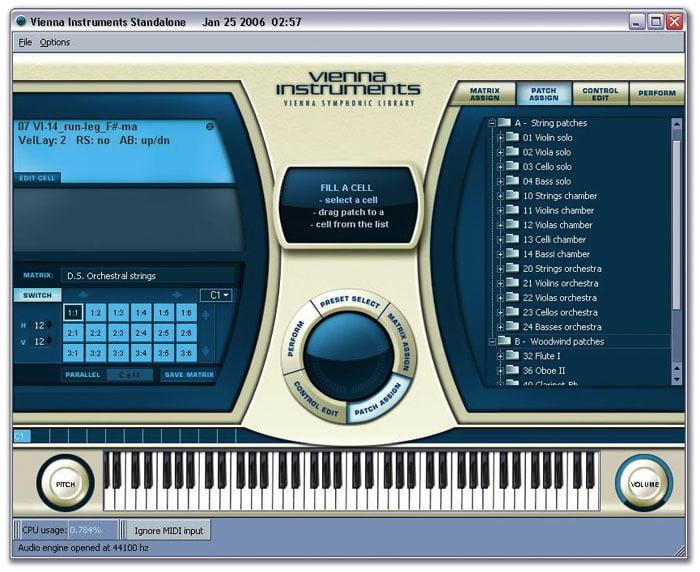 Vienna Instrument old