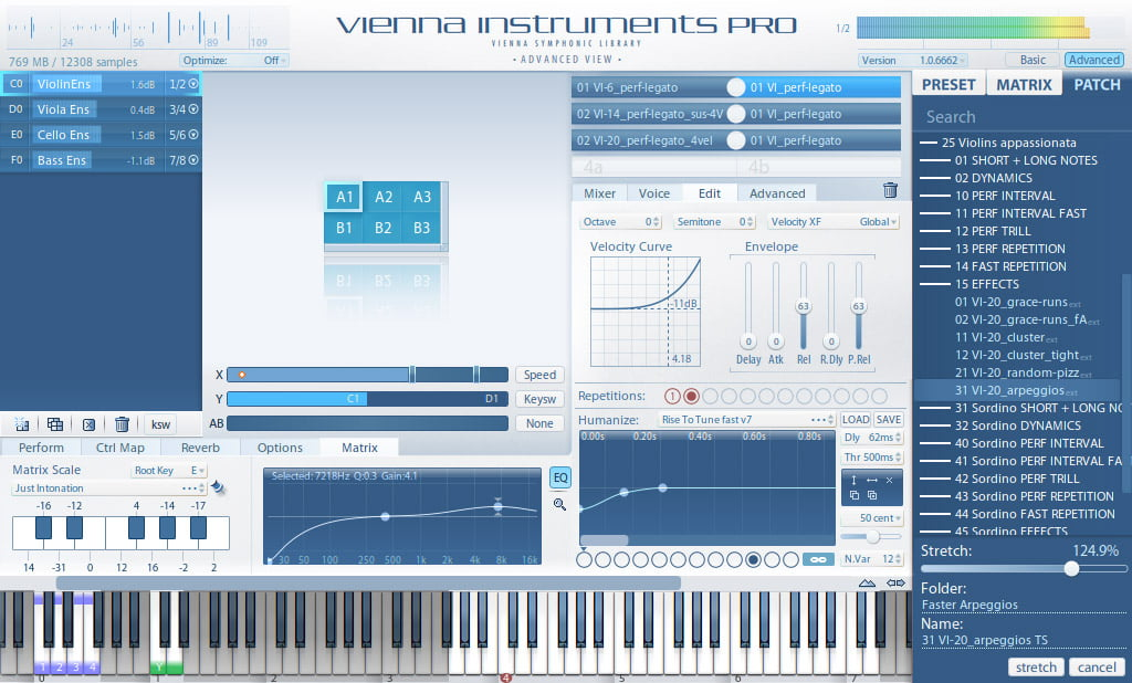 Vienna instrument pro