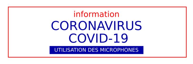 Microphones Covid 19