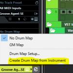 fonctionnalité drum map automatique VST3