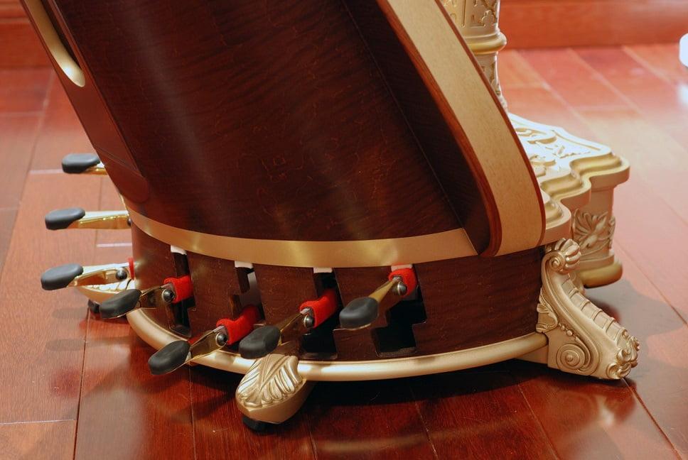 Harpe pedales (source Véronique Couturier)